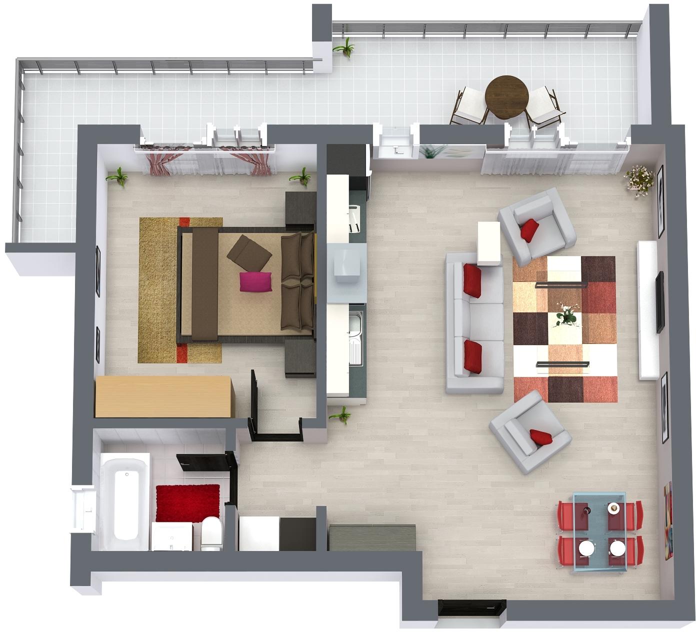 RoomSketcher 3D Floor Plan_Ap1
