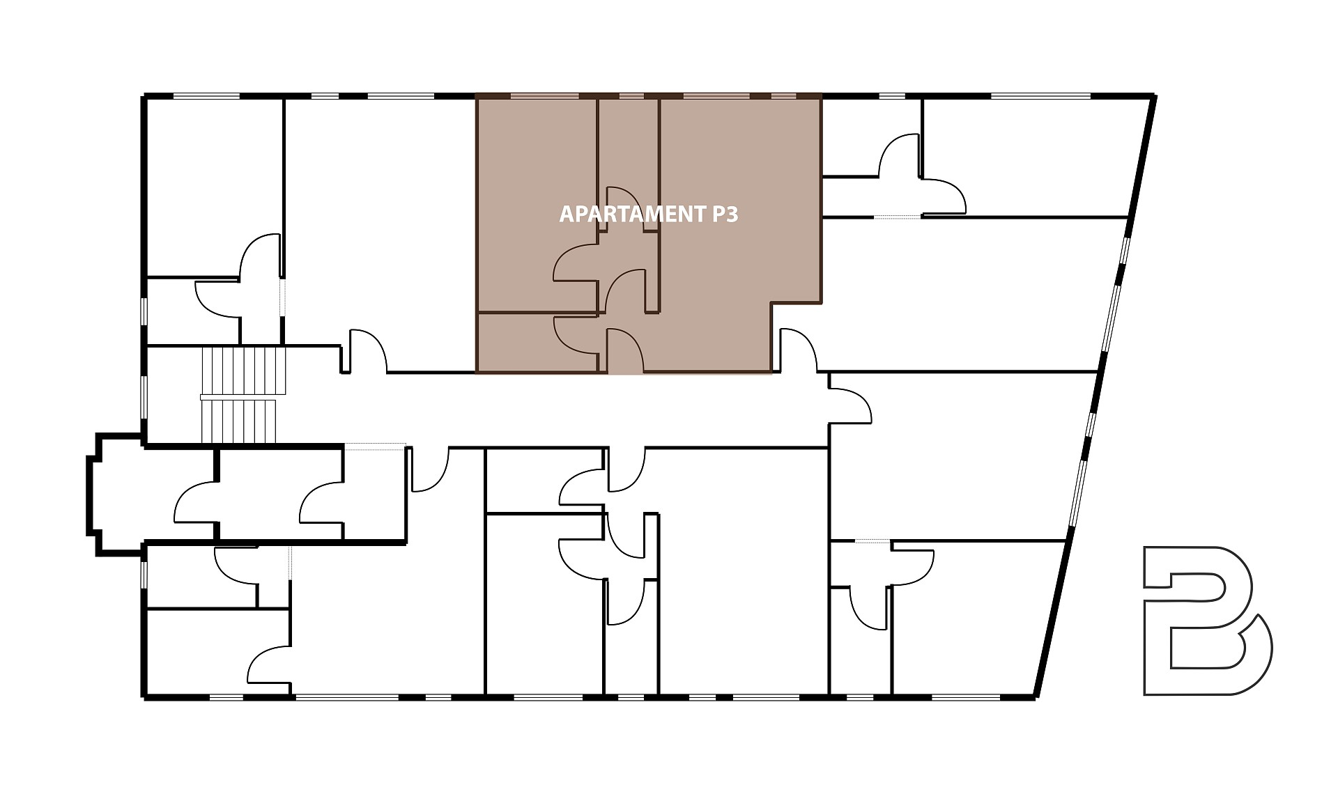 Trace Apartament P3 Targoviste